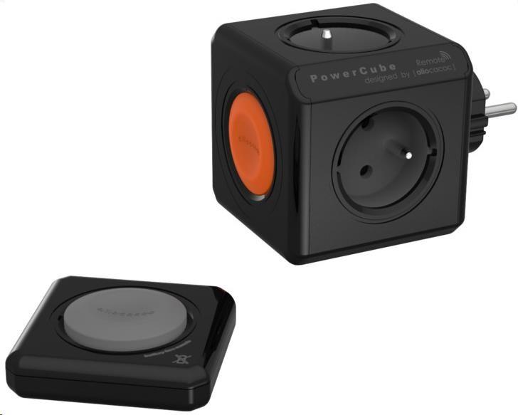 Allocacoc PowerCube Original REMOTE BLACK SET (8719186002044)