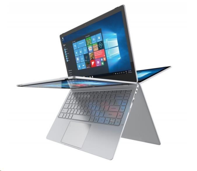 """UMAX NB VisionBook 13Wa Flex - IPS 13.3"""" 1920x1080,Celeron N3450@1.1GHz,4GB,64GB,IntelHD,micHDMI,2xUSB,M2SATA Slot,W10H"""