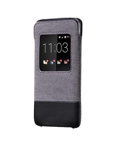 BlackBerry pouzdro typu kapsa SMART pro BlackBerry DTEK60, šedá/černá (ACC-63068-001)
