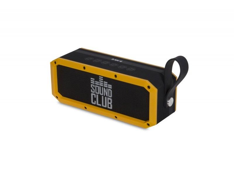 Sound Club RUGGED - přenosný BT reproduktor, 2x10W+10W subwoofer, odolnost IPX5 (ASSCRUG)