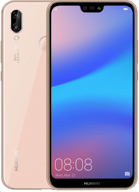HUAWEI P20 Lite, Dual SIM, Pink