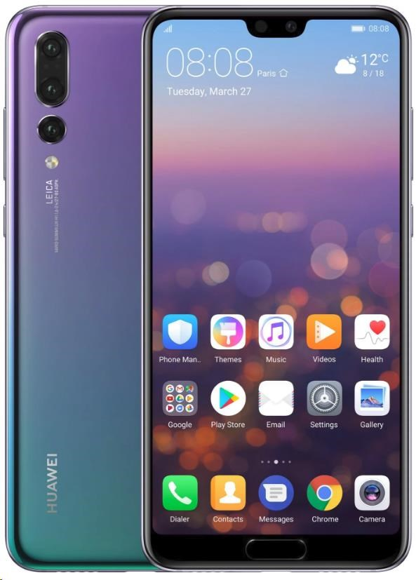 HUAWEI P20 Pro, Dual SIM, Twilight