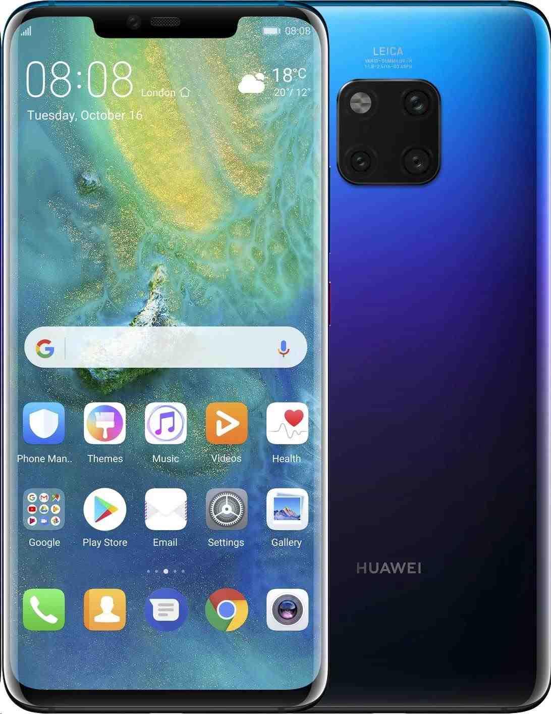 Huawei Mate 20 Pro, Dual SIM, Twilight