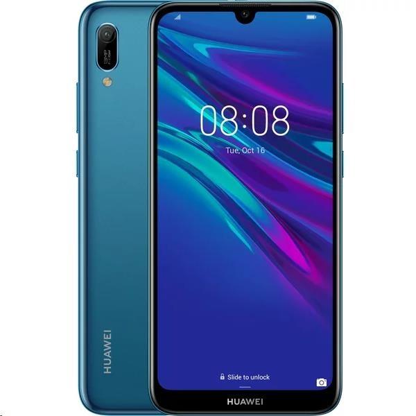 Huawei Y6 2019, Dual SIM, safírově modrý