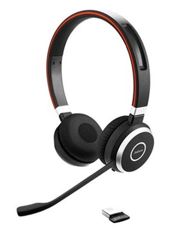 Jabra bezdrátová náhlavní souprava Evolve 65 UC, stereo, MS (6599-823-309)