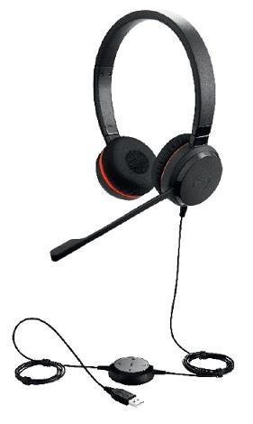 Jabra náhlavní souprava Evolve 30 II, stereo, USB, NC, MS (5399-823-309)