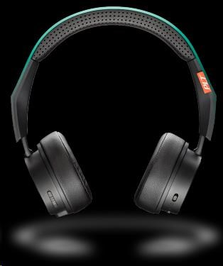 PLANTRONICS stereo Bluetooth Headset Backbeat FIT 500, černá-tyrkysová