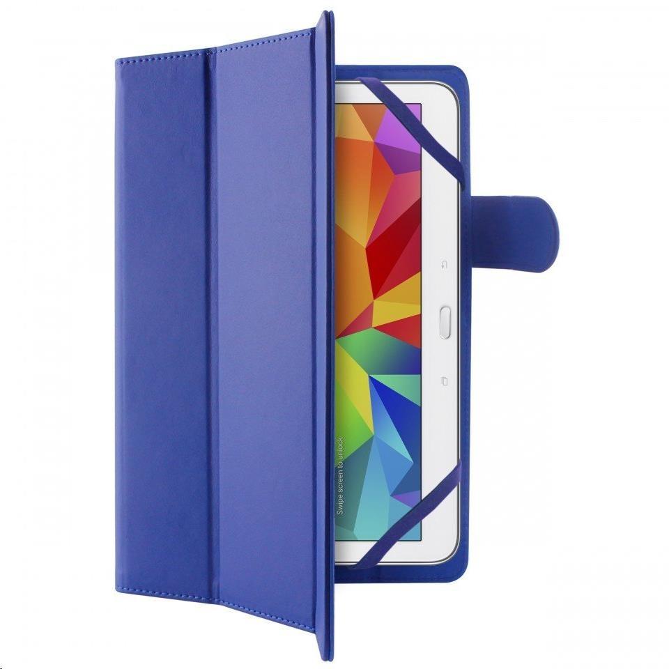 """Puro stojánkové pouzdro s magnetem pro tablet 10,1"""", modrá (UNIBOOKEASY10BLUE)"""