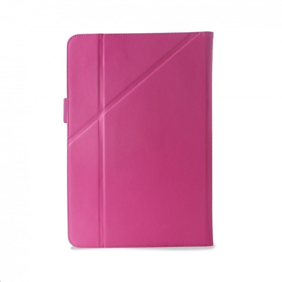 """Puro stojánkové pouzdro s magnetem pro tablet 10,1"""", růžová (UNIBOOKEASY10PNK)"""