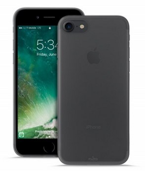 "Puro zadní kryt ""Plasma"" pro Apple iPhone 7 / iPhone 8, černá (IPC747PLASMABLK)"