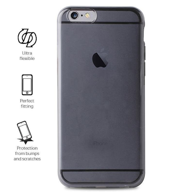 "Puro zadní kryt ""Plasma"" pro Apple iPhone 7 Plus / iPhone 8 Plus, černá (IPC755PLASMABLK)"