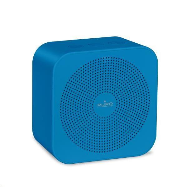 Puro Handy Speaker - bezdrátový reproduktor, modrá (BTSP03BLUE)