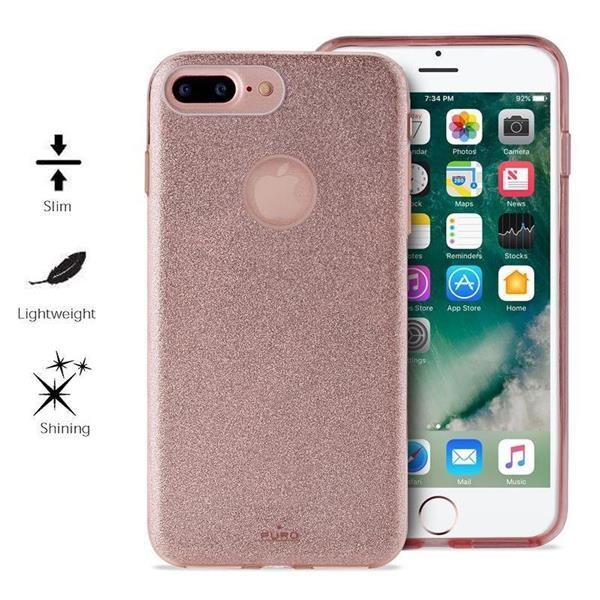 "Puro zadní kryt ""SHINE"" pro Apple iPhone 6 Plus / 6s Plus / 7 Plus / 8 Plus, zlatá"