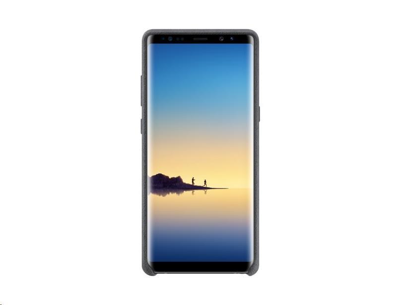 Samsung zadní kryt Alcantara EF-XN950AJE pro Samsung Galaxy Note 8 (N950), šedá (EU Blister)