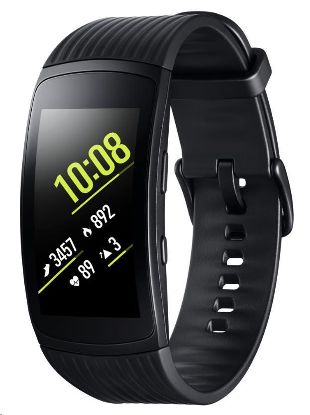 Samsung chytrý náramek Galaxy Gear Fit2 PRO, černá (SM-R365NZKAXEZ)