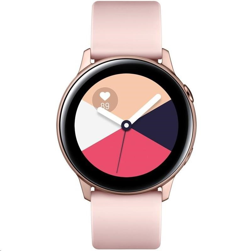 Samsung Galaxy Watch Active, zlatá