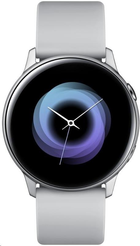 Samsung Galaxy Watch Active, stříbrná