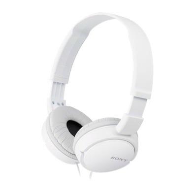 SONY stereo sluchátka MDR-ZX110, bílá (MDRZX110W.AE)