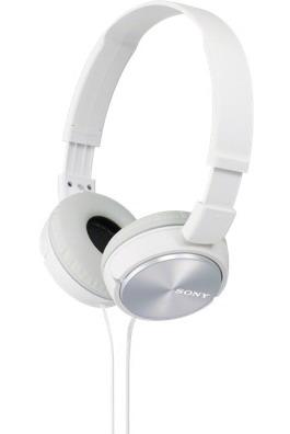 SONY stereo sluchátka MDR-ZX310, bílá (MDRZX310W.AE)