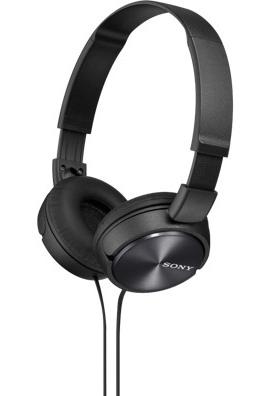 SONY stereo sluchátka MDR-ZX310, černá (MDRZX310B.AE)