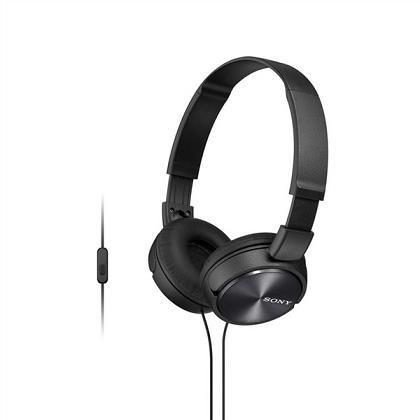 SONY stereo sluchátka MDR-ZX310AP, černá (MDRZX310APB.CE7)