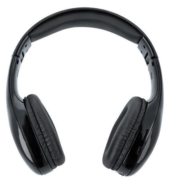 Forever bluetooth stereo sluchátka BHS-200, černá