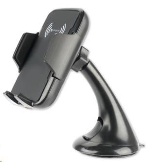 4smarts držák do auta VoltBeam s indukčním nabíjením, černá