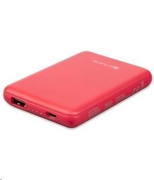 4smarts powerbanka VoltHub GO, 5000 mAh, červená