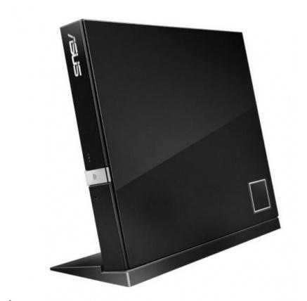 ASUS BLU-RAY Combo SBC-06D2X-U, External, black, USB