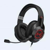 EDIFIER sluchátka G2II, USB, RGB, černá