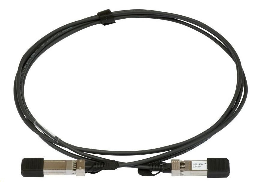 MikroTik S+DA0003, Direct Attach Cooper Cable, SFP/SFP+ DAC, 1G/10G, 3m