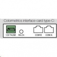 Colormetrics interface card, type-G