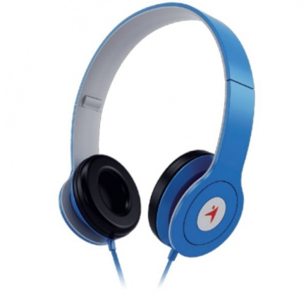 GENIUS sluchátka s mikrofonem HS-M450, modrá