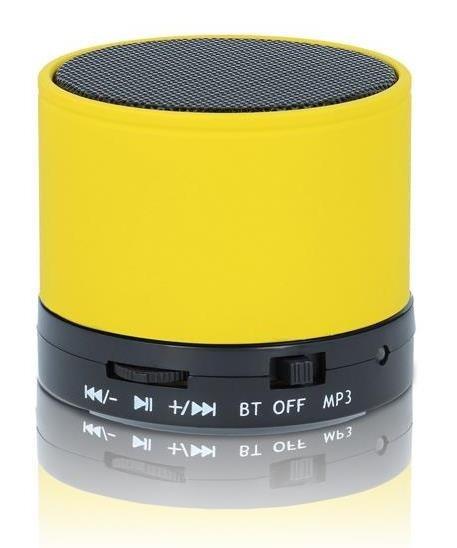 Forever bluetooth reproduktor BS-100, žlutá