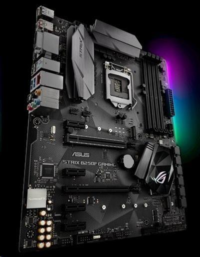 ASUS MB Sc LGA1151 STRIX B250F GAMING, Intel B250, 4xDDR, VGA