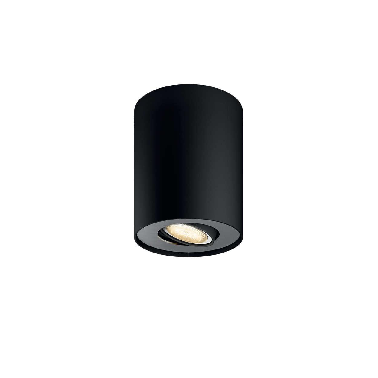 PHILIPS Pillar Bodové svítidlo, Hue White ambiance, 230V, 1x5.5W GU10, Černá, rozšíření