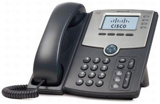 Cisco SPA504G, 4-line VoIP telefon, display, PoE, PC port, SIP