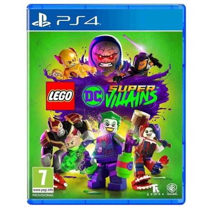 PS4 hra LEGO DC SUPER VILLAINS