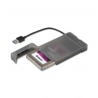 "iTec USB 3.0 MySafe Easy, rámeček na externí pevný disk 6.4 cm / 2.5"" pro SATA I/II/III HDD SSD, černý"
