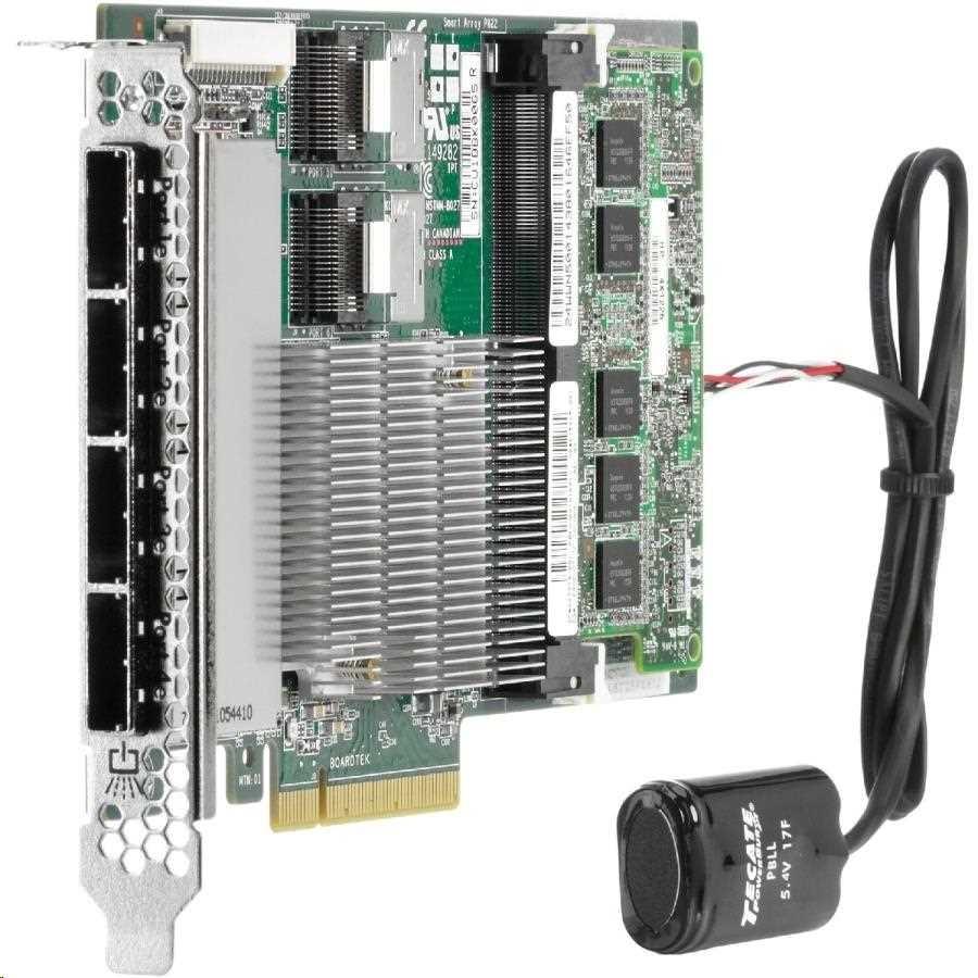 HP Smart Array P822/2GB FBWC 2-ports Int/4-ports Ext SAS Controller
