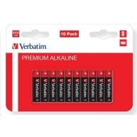 VERBATIM  AAA Alkalická Baterie 10 Pack / LR3