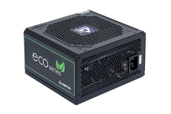 CHIEFTEC zdroj iARENA ECO GPE-600S, 600W, 120mm fan, PFC, účinnost >85%, Bronze, Retail