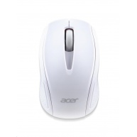 ACER  Wireless Mouse G69 White - RF2.4G, 1600 dpi, 95x58x35 mm, 10m dosah, 2x AAA, Win/Chrome/Mac, (Retail Pack