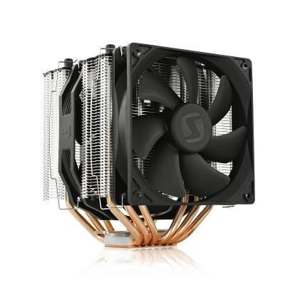 SilentiumPC chladič CPU Grandis 2 XE1436 / ultratichý/ 1x140mm a 1x120mm fan/ 6 heatpipes/ PWM/ pro Intel