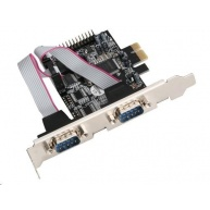 iTec PCI Express karta PCIe 2x serial, 1x parallel