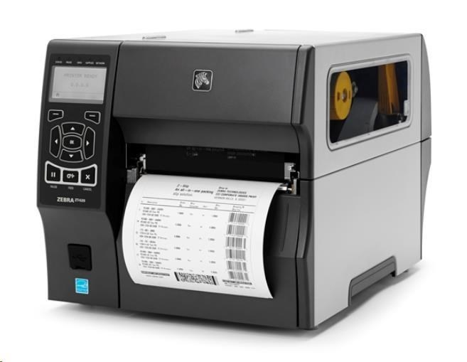 "Zebra TT průmyslová tiskárna ZT420, 6"", 203 dpi, RS232, USB, Bluetooth, Wireless 802.11, Card: Rest of World (ROW), EZPL"
