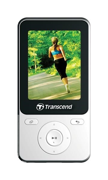 TRANSCEND MP3 Player MP710, FM, 8GB, White