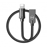 Mcdodo Knight Series USB AM To Lightning Data Cable (1.8 m) Black