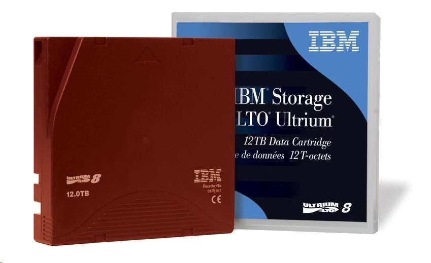 IBM LTO8M Ultrium 9TB/18TB RW Data Cartridge