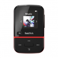 SanDisk Clip Sport Go, 32 GB, Red